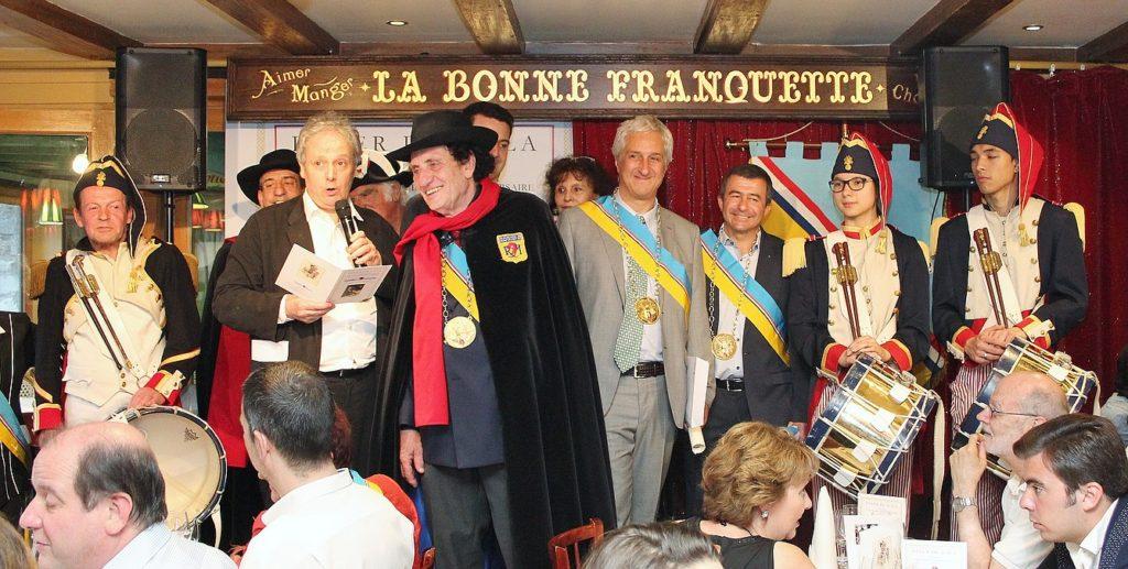 la République de Montmartre le 24 juin 2016 à La Bonne Franquette.